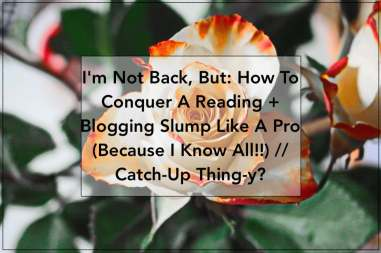 reading and blogging slump